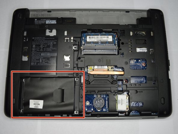 HP ProBook 440 G1 Hard Disc Drive (HDD) Replacement
