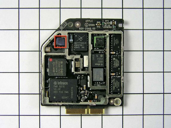 There is a Broadcom part on the top-left side, but the FCC's photo isn't large enough to identify it.