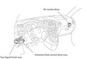 Wiring Diagram For A 2011 Audi Q7 besides Typical Toyota Abs Control Relay Wiring Diagram likewise 2006 Mercury Mountaineer Oxygen Sensor furthermore Saturn Ion 2005 2007 Fuse Box Diagram as well Obd Ii Harness. on 2006 prius fuse box diagram