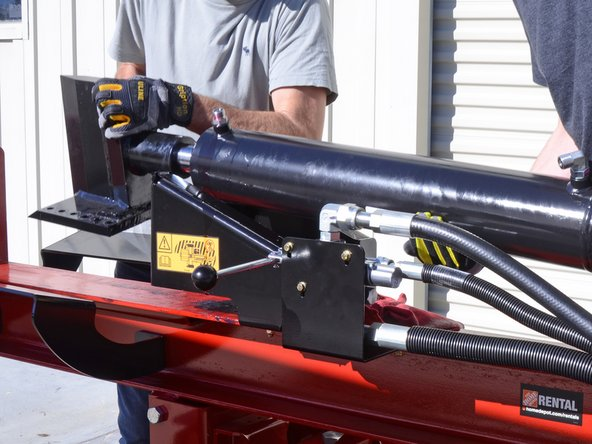 Toro Log Splitters 22618HD 2019 Cylinder and Wedge Assembly Replacement