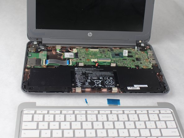 HP Chromebook 11-2210nr Keyboard Replacement