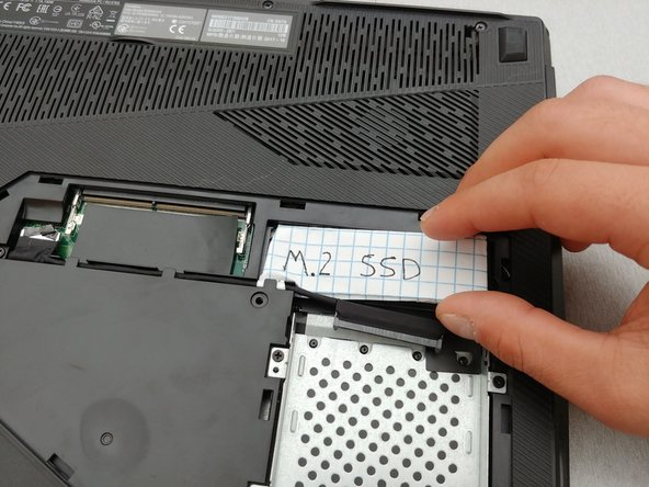 ASUS ROG Strix GL503VD-DB71 SSD Replacement