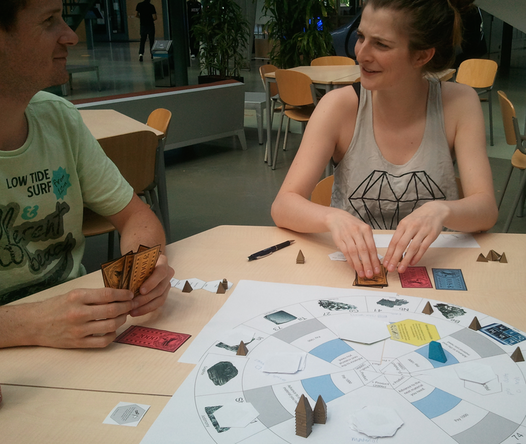 In the Loop board game about supply chains