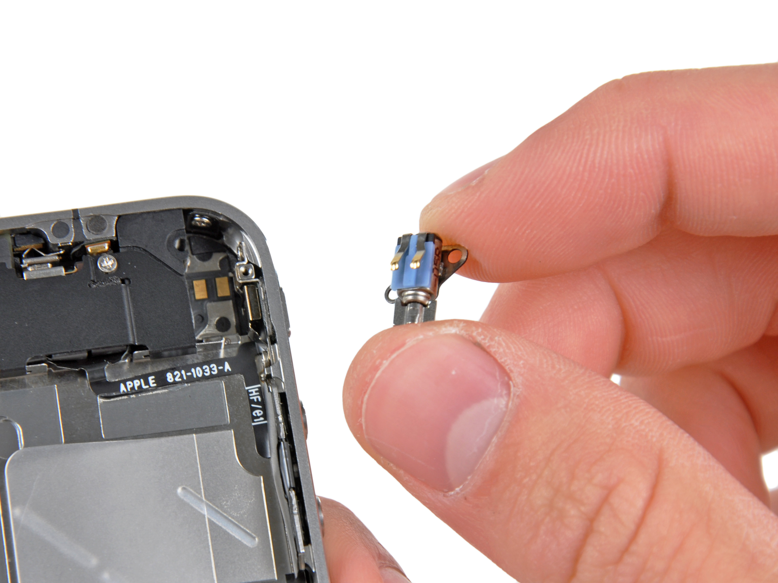 change vibration on iphone iphone 4 replacement ifixit repair guide 8270