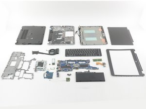 HP EliteBook 840 G3 Repairability Assessment