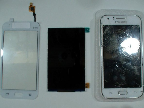 We will replace the touch screen and the LCD.
