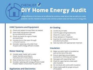 DIY Home Energy Saving Fixes