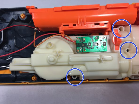 Nerf Dart Tag Swarmfire Motor Spring Replacement Ifixit