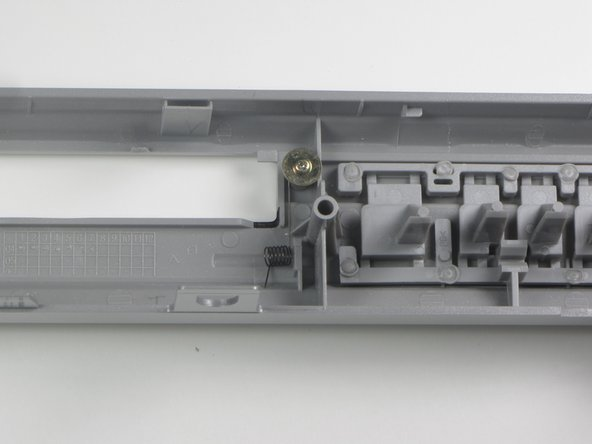 Toshiba SD-K740 Front Flap Tray Door Spring Replacement
