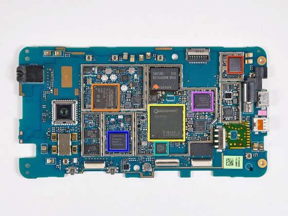 Image 1/1: A Broadcom BCM4329 integrating Wi-Fi, Bluetooth, and FM connectivity to provide speeds up to 50 Mbits/s in 802.11n.