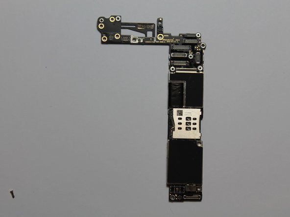 The iPhone 6 logic board.