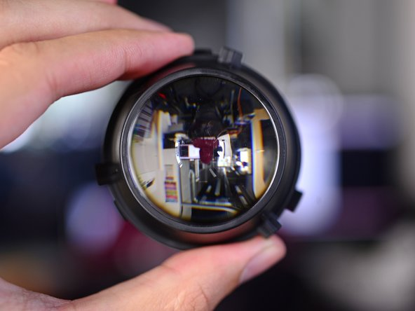 With the lenses removed, there is no end to the light-bending experiments we can perform.