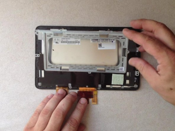 Remove the metal LCD display shield.