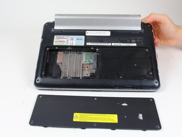Sony Vaio VPCW211AX Hard Drive Replacement