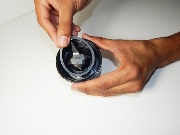 Place and press the new seal into seal seat with finger.