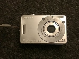 Sony Cyber-shot DSC-W50 Troubleshooting
