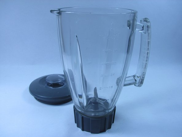 Remove the top lid from the blender jar.