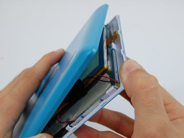 Image 2/3: Go slowly when you pry the back off to ensure you do not crack the case or damage the screen.