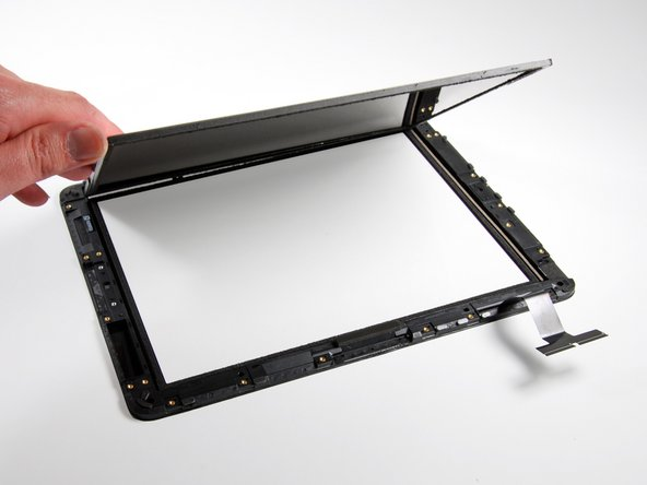 The display assembly weighs in at: