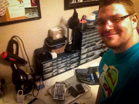 Bryan doing a phone repair at iGadget Repair Services