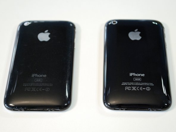 "Image 3/3: Apple doesn't make it easy to identify your iPhone 3GS, as they're all labeled just ""iPhone."" However, the 3G is model A1241, while the 3GS is model A1303."