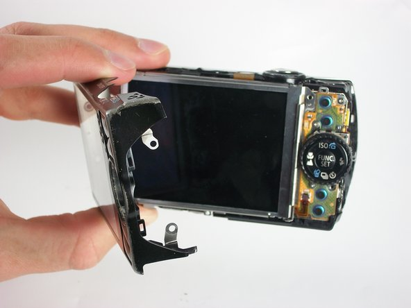 Disassembling Canon Powershot SD880 Back Cover Removal