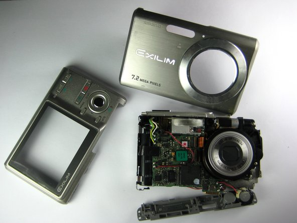 Casio Exilim EX-Z70 Camera Casing Replacement