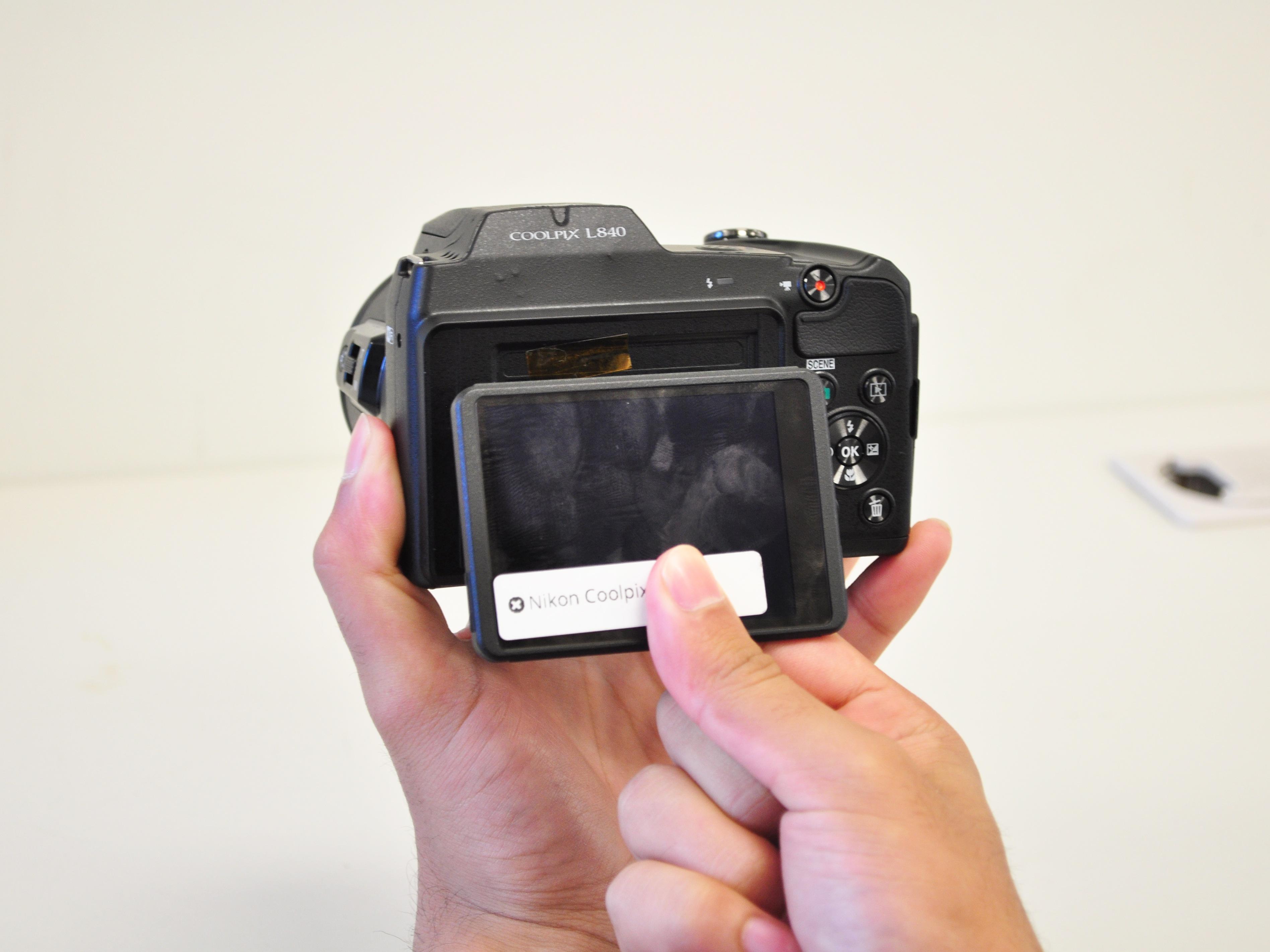 Nikon Coolpix L840 Repair Ifixit Camera Parts Diagram Lcd Screen