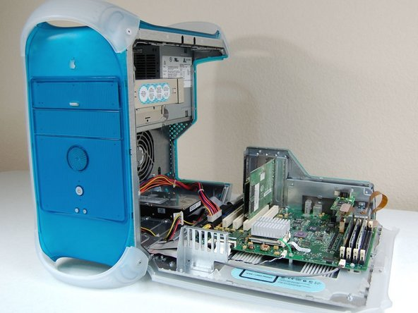 Power Macintosh G3 Blue and White Graphics Card Replacement