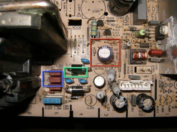 Image 1/3: FL231 125V UL FA LL .400A TE5 fuse