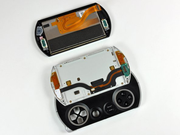 The PSP Go should now look similar to the second picture.