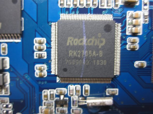 RK2705 200MHz CPU By RockChip