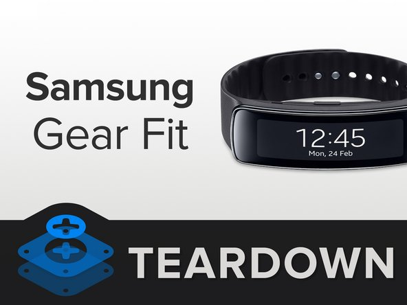 What did Samsung fit inside the Gear Fit?