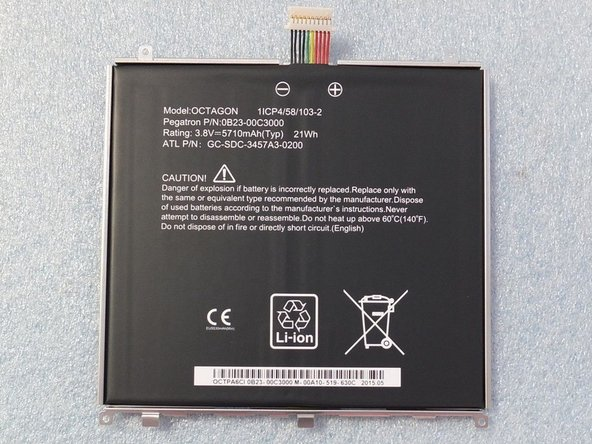 Tesco hudl2 Battery Replacement