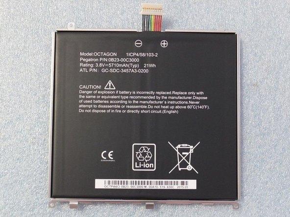 Tesco hudl2 Battery Replacement