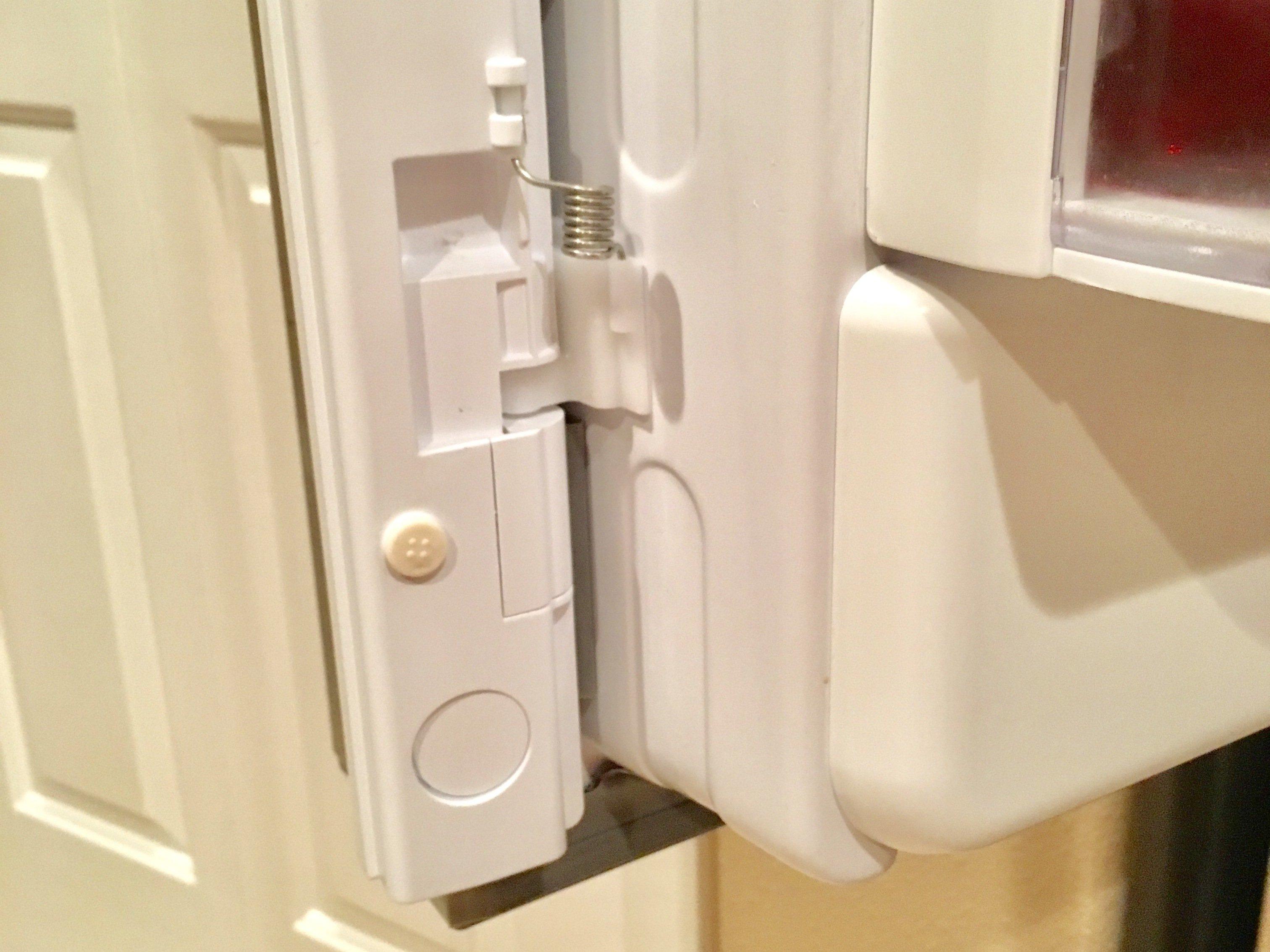 Replacing Spring In Refrigerator Door Ifixit Repair Guide