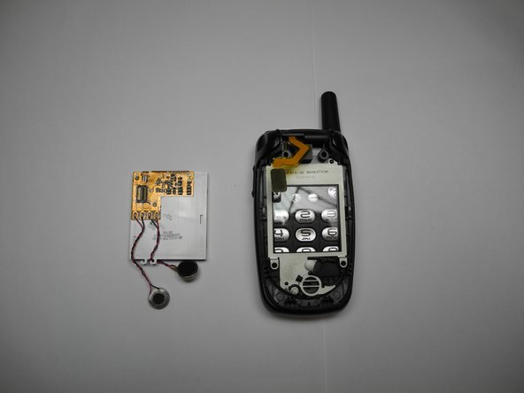 Follow steps in reverse order to replace Kyocera Oystr's screen.