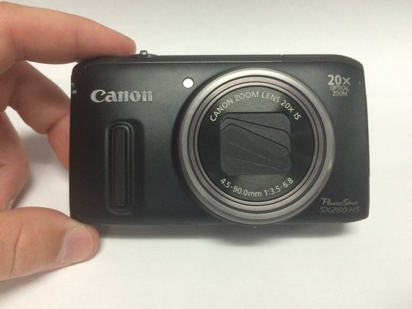 Canon PowerShot SX260 HS Battery Replacement