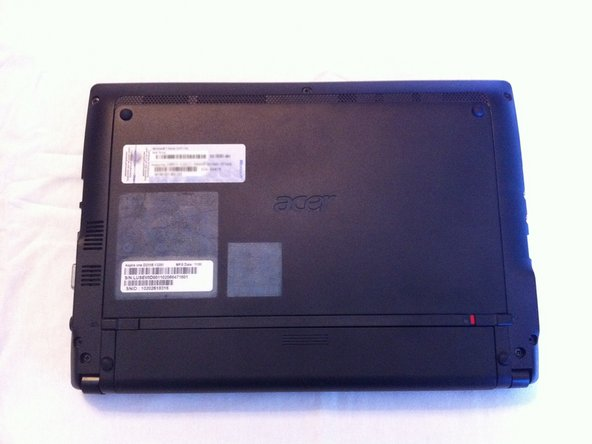 acer aspire one d255e removing the back access panel ifixit rh ifixit com