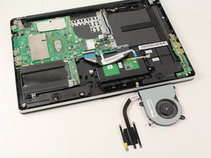 ASUS Transformer Book Flip TP500LA Fan Replacement