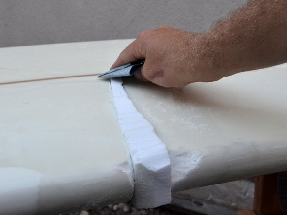 how to fix a buckled surfboard