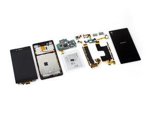 Sony Xperia Z4 Teardown