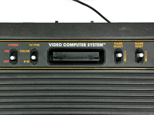 From its release in 1977 until 1983, the Atari 2600 was officially called the Video Computer System, in response to Fairchild Semiconductor's Video Entertainment System. The console was later renamed after its model number, CX2600.