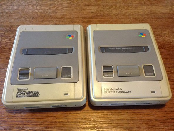 Consoles for the European, Asian and Australian market all had the same form factor, unlike the North American version. This guide should work for all versions except for American and pre-1995 japanese models.