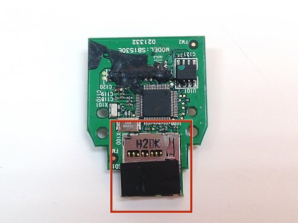 Image 3/3: MicroSD card slot