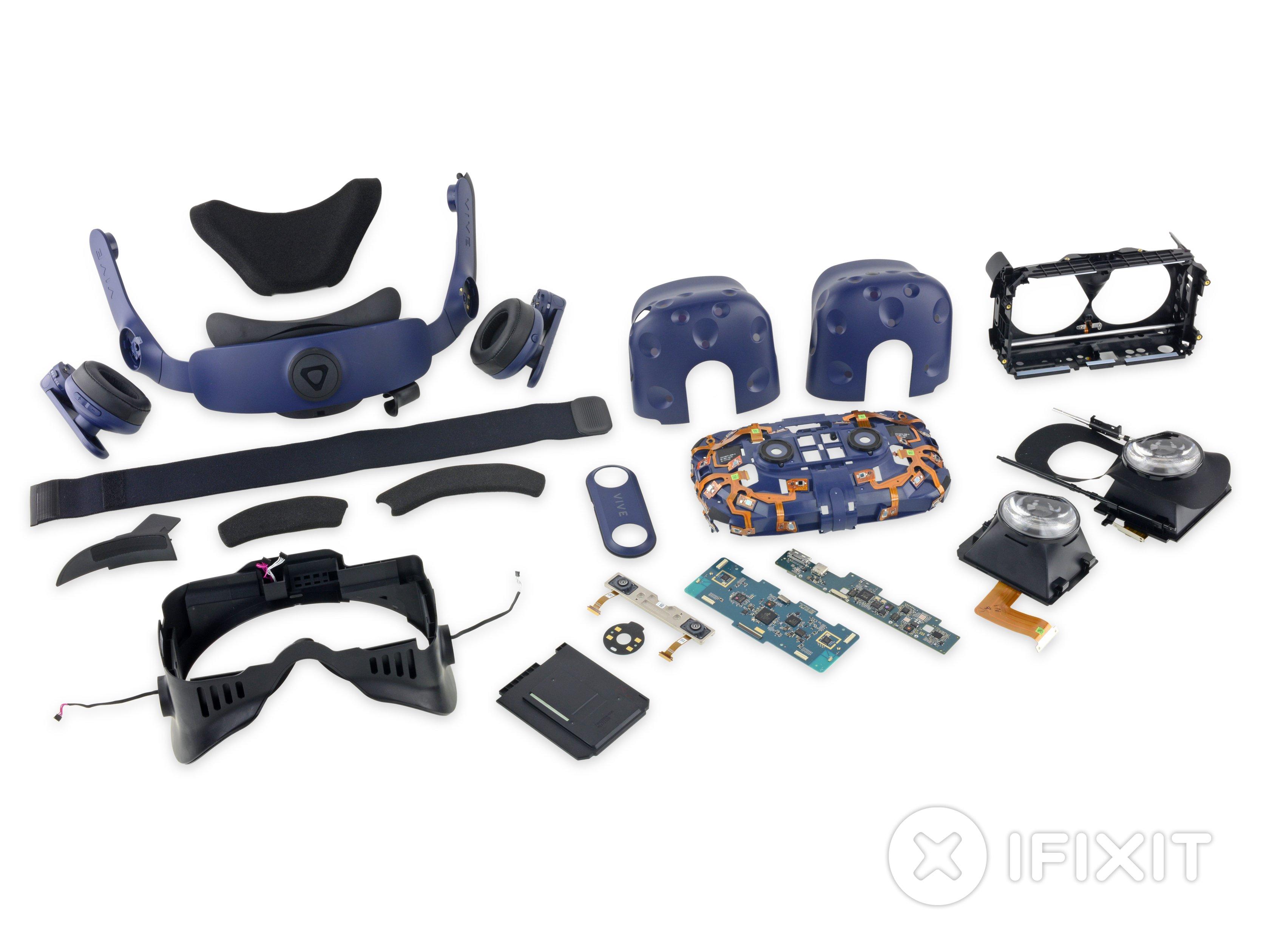 HTC Vive Pro Teardown - iFixit
