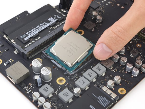 Check the orientation of your CPU before installing it.