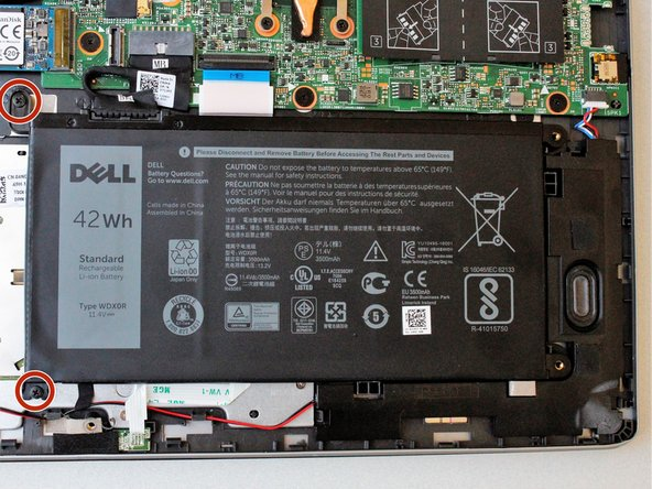 Dell Inspiron 15 7579 Battery Replacement