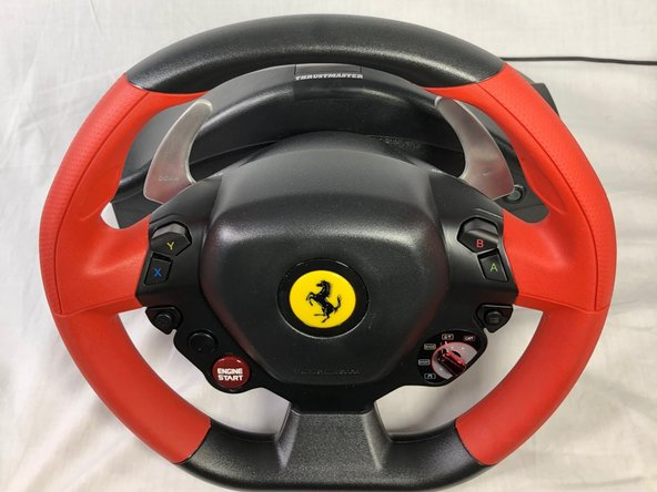 Thustmaster Ferrari 458 Spider Racing Wheel Bottom Cover Replacement