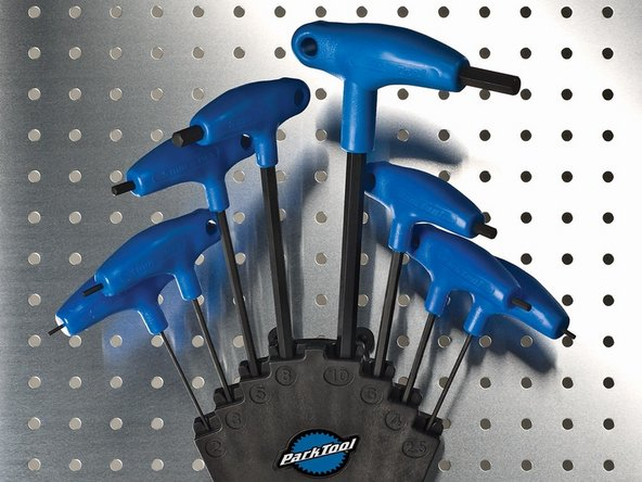 Park Tool PH-1 P-Handle Hex Wrench Set Main Image
